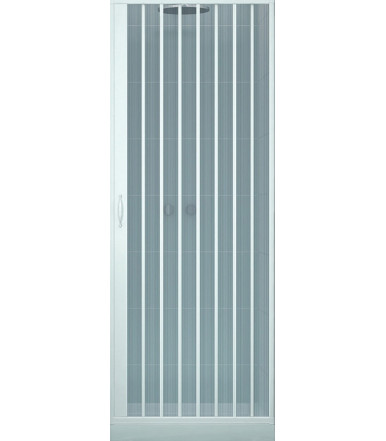 Box doccia estensibile in PVC anta unica con apertura laterale - Linea Lux Venere