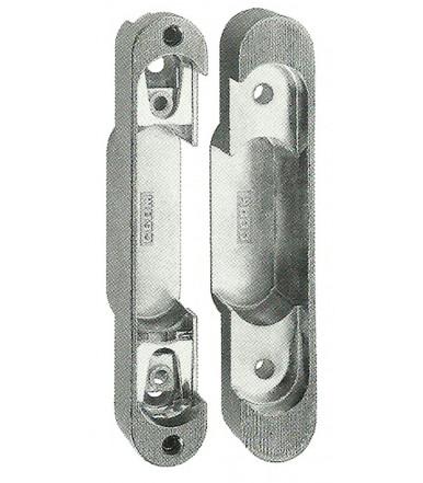 Basetta di regolazione per cerniere fisse da incasso per porte Ceam Art.800 foro 121,9x21,7 mm