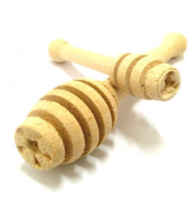 Spargimiele in legno di faggio artigianato abruzzese