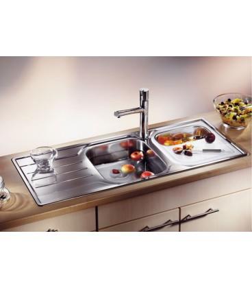Lavello rettangolare da cucina acciaio inox BLANCO MEDIAN 8S ...