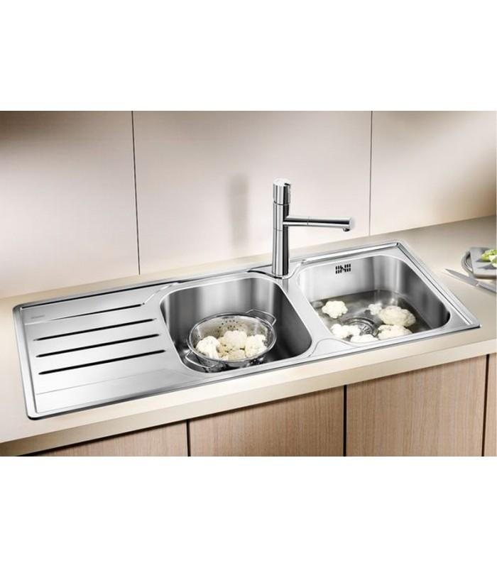Lavelli Cucina Acciaio Inox. Lavello Cucina Acciaio Inox Vasca Xcm ...