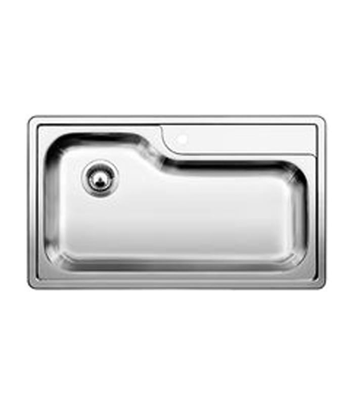 Lavello rettangolare da cucina acciaio inox BLANCO PLENTA ...