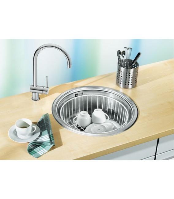 Lavello tondo da cucina acciaio inox BLANCO RONDOSOL - Mancini ...