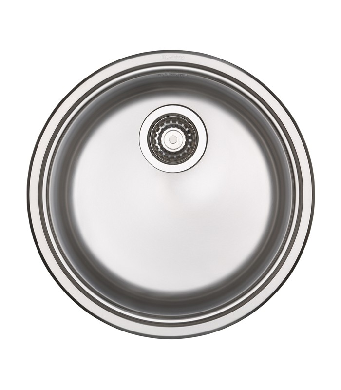 blanco rondosol round kitchen sink stainless steel - Kitchen Sinks Round