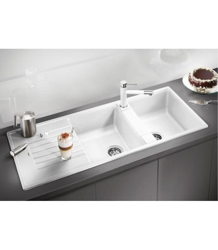 BLANCO ZIA 8 S Rectangular Kitchen Sink In Silgranit PuraDur