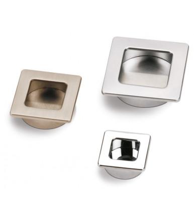 Maniglia-placca quadra foro tondo da incasso Stylus 356-360