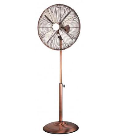 Ventilatore a piantana in metallo color Rame 40 Terra CFG