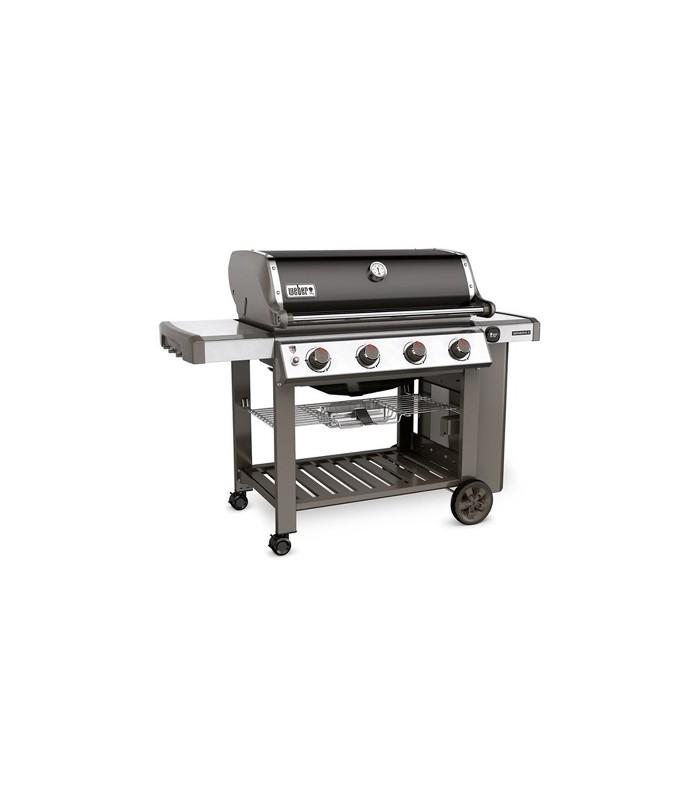 weber gas barbecue genesis ii e 410 smoke grey mancini mancini shop. Black Bedroom Furniture Sets. Home Design Ideas