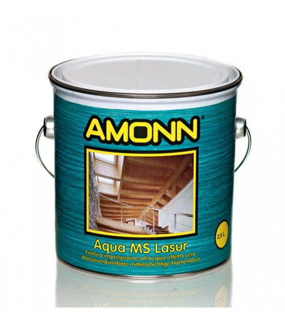 Finitura impregnante effetto cera Amonn Aqua MS-Lasur
