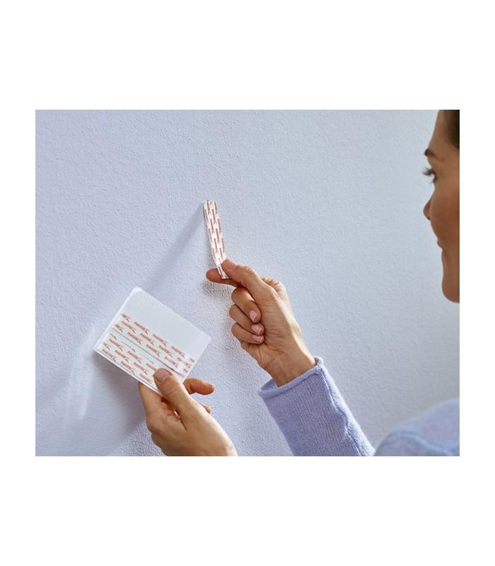 chiodi adesivi regolabili bianchi per carta da parati ed