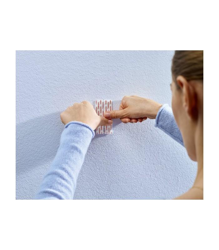Chiodi adesivi regolabili per carta da parati ed intonaco for Chiodi adesivi