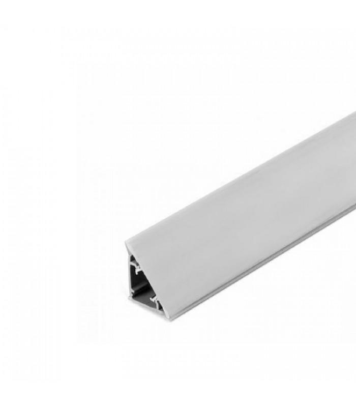 Alzatina triangolare in alluminio Volpato 50/65.400AL ...