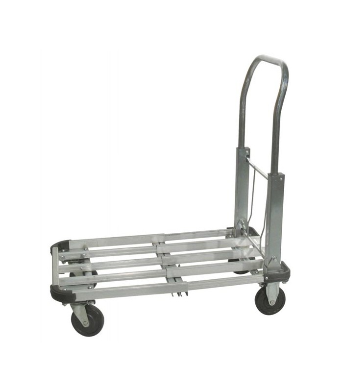 aluminiumwagen mit klappbarem griff 4 lenkrollen mm 100. Black Bedroom Furniture Sets. Home Design Ideas