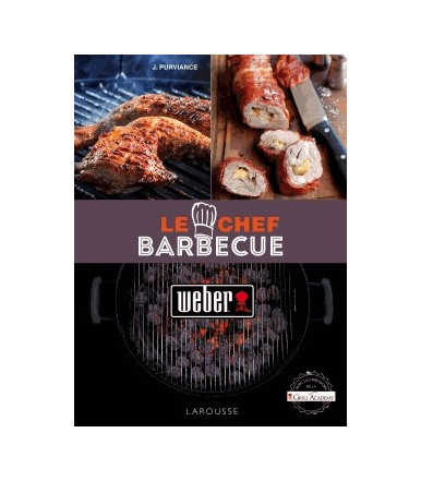 Libro Weber Lo Chef del Barbecue