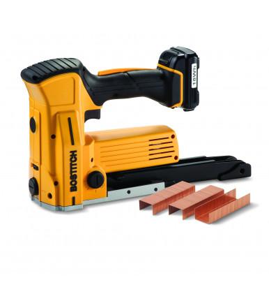 Graffettatrice senza fili a batteria per scatole Stanley Bostitch DSA-3522-E