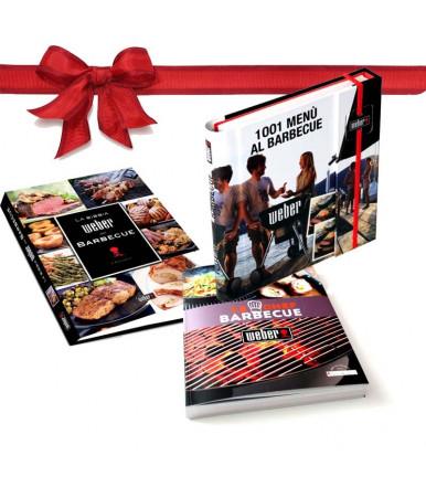 Lo Chef del Barbecue + La Bibbia Weber + 1001 menù al Barbecue