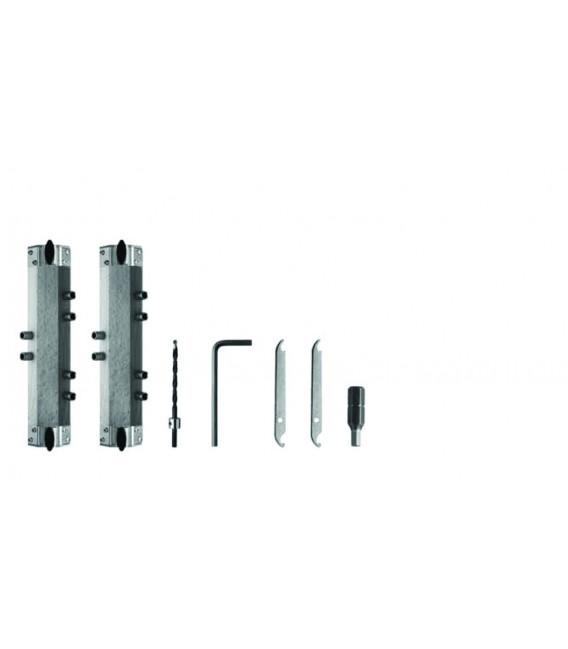 Set - Applicazione a filo per cerniere regolabili da 15 SFS intec