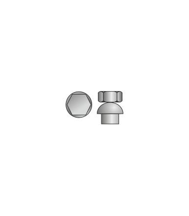 Dado Esagonale cieco a strappo in acciaio Inox A2 Tecfi