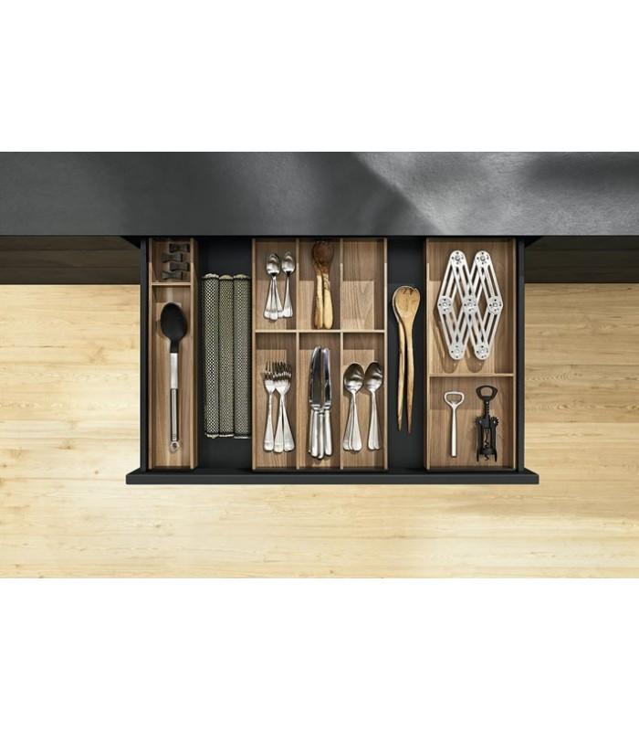 Portaposate per cassetti legrabox blum ambia line design legno mancini mancini shop - Divisori per cassetti cucina ...