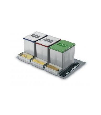 Contenitori per raccolta differenziata Inoxa 97DA/903