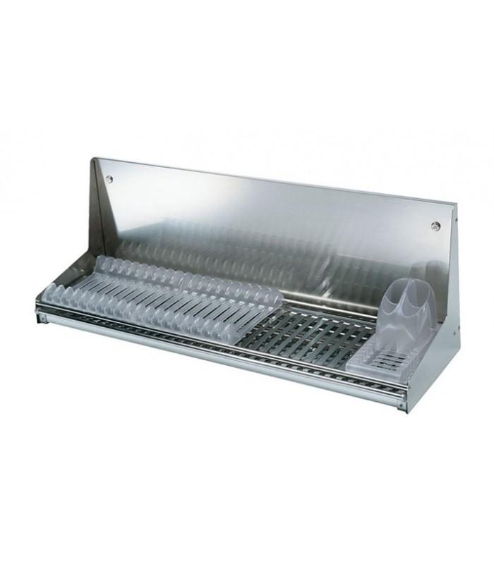 Scolapiatti in acciaio inox da parete tecnoinox open for Accessori cucina acciaio