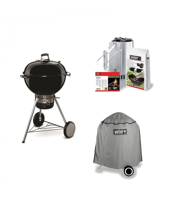 1 pack barbecue weber master touch ciminiera. Black Bedroom Furniture Sets. Home Design Ideas