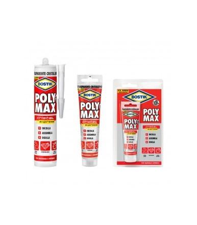 Adesivo e sigillante trasparente Bostik Poly Max Crystal Express
