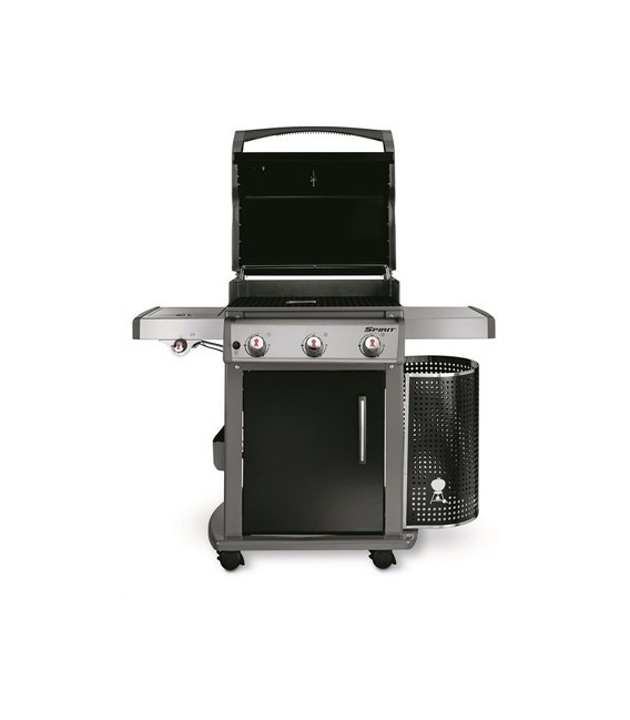barbecue a gas weber spirit premium e 320 gbs black mancini mancini shop. Black Bedroom Furniture Sets. Home Design Ideas