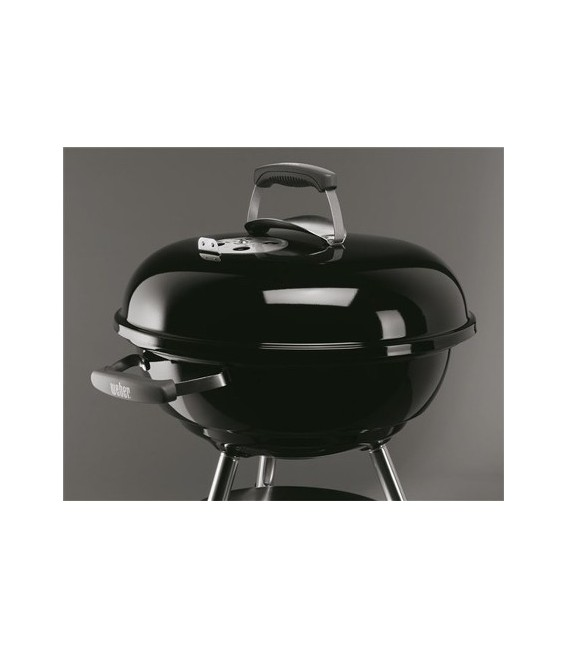 barbecue a carbone weber compact kettle 47 black mancini mancini shop. Black Bedroom Furniture Sets. Home Design Ideas