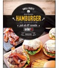 Libro Weber Hamburger al barbecue