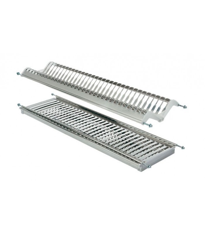 Scolapiatti acciaio inox aisi 304 inoxmatic mancini for Accessori cucina acciaio