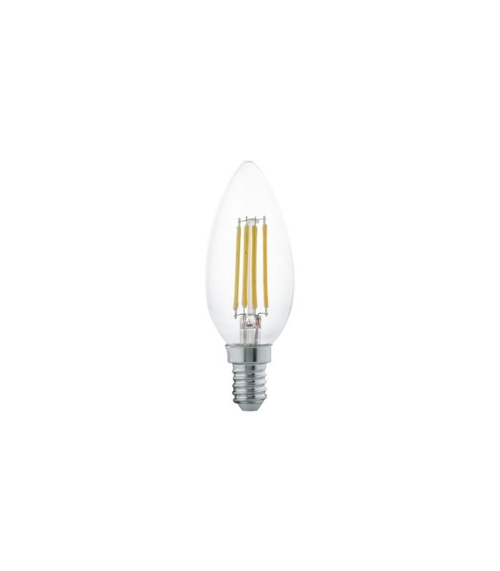Lampadina a led luce calda eglo 4w 350 lumen mancini for Led luce calda