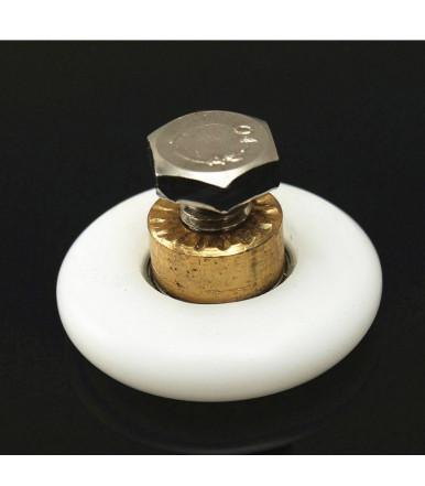 Ruota cuscinetto per anta box doccia scorrevole 25/27 mm