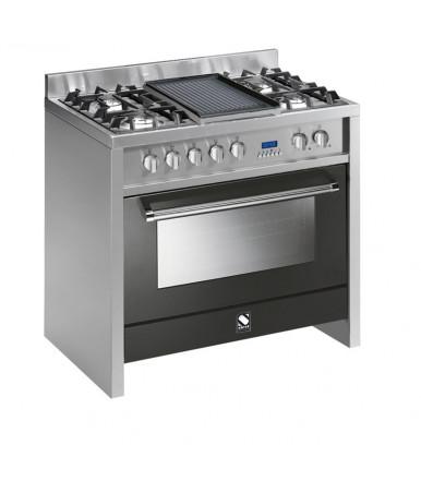 Cucina Party Line Steel Inox 90