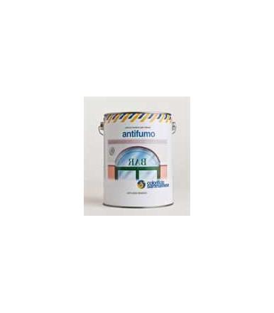Pittura antifumo bianca isolante inodore per muri