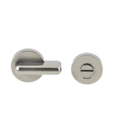 Chiusura bagno per porta scorrevole con indicatore JNF inox art.SM.050