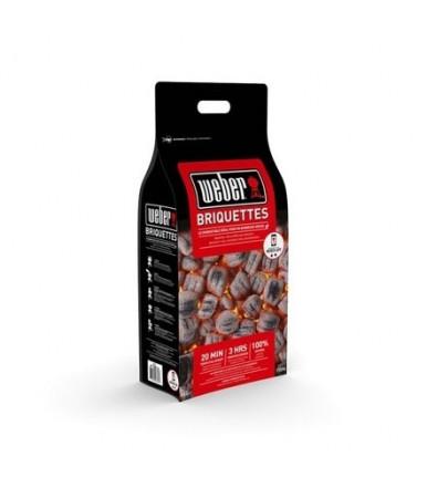 Sacco Bricchetti di carbone per Barbecue Weber 8 Kg cod.17591