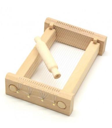 Chitarra in miniatura in legno di faggio artigianato abruzzese
