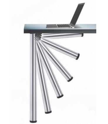 Confezione 4 gambe pieghevole per tavolo 656 click camar for Gambe pieghevoli per tavoli fai da te
