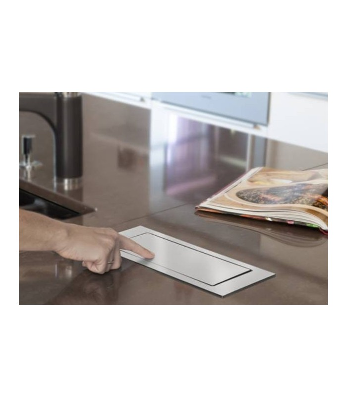 Multipresa a scomparsa incasso backflip standard 2 prese - Prese a scomparsa cucina ...