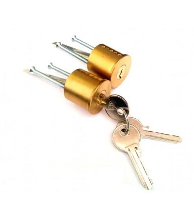 Cilindro a coppie in ottone con ribasso MP51 Cortellezzi Primo