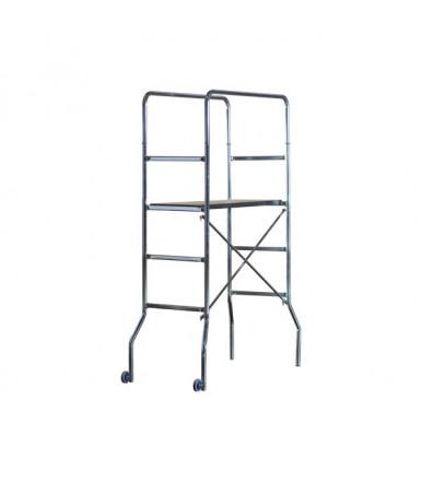 Marchetti TRIO scaffold galvanized steel H1,88 M 1 worktop and 2 wheels