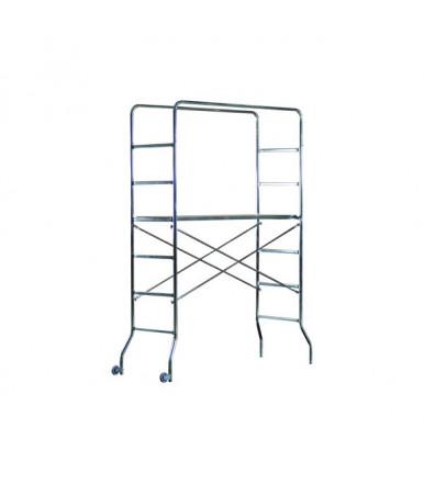 Marchetti Supertrio scaffold galvanized steel H2,18 M 1 worktop and 2 wheels