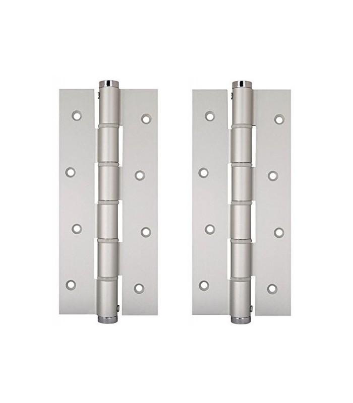 Coppia Cerniere Semplice azione SA 180 Justor in alluminio 5814.01 - Mancini & Mancini Shop