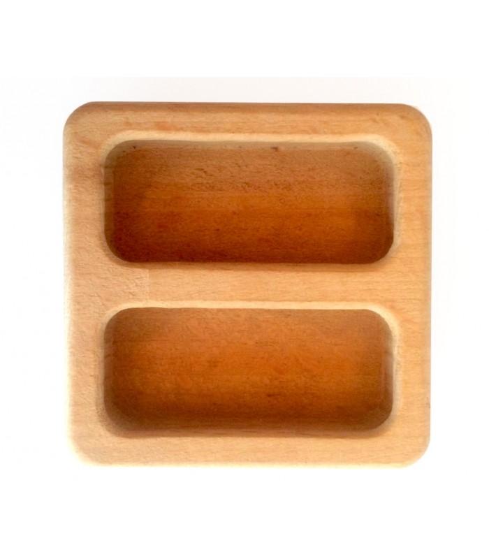 Maniglia quadra da incasso in legno mancini mancini shop - Maniglie per finestre in legno ...