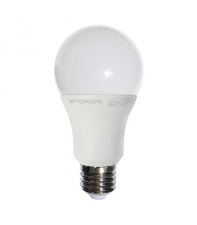Lampadina LED - 15W E27 A60 alluminio + termoplastico 4500K Optonica Led