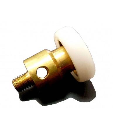 Cuscinetto ottone rivestito nylon TRO 19 PICA con vite e perno forato Tric