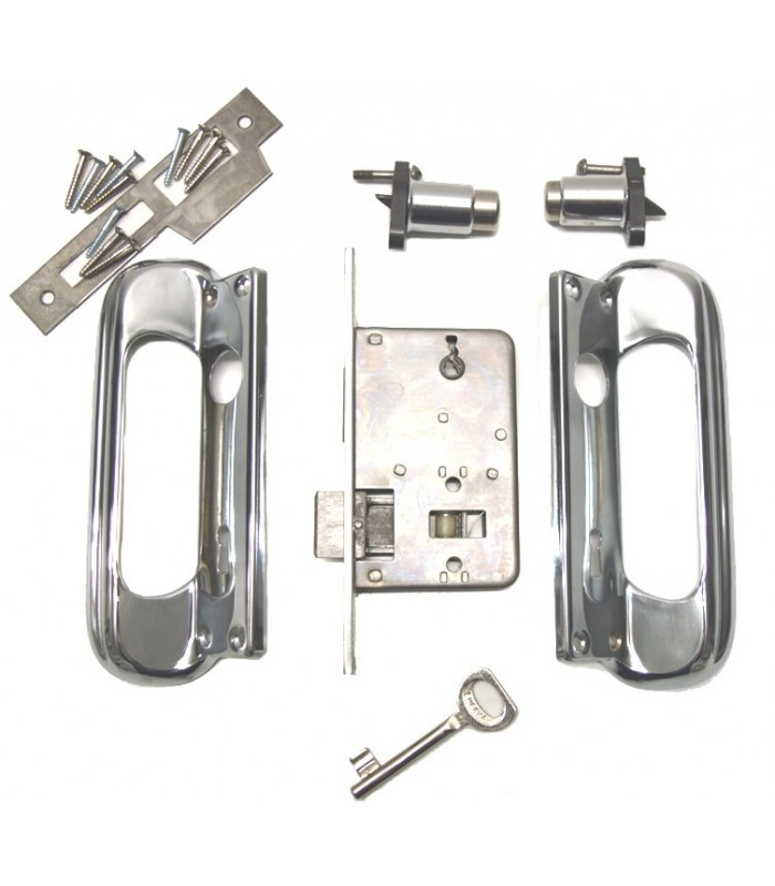 EUREKA Multipoint Locks 339 For Interior Doors With A Couple Of Handles