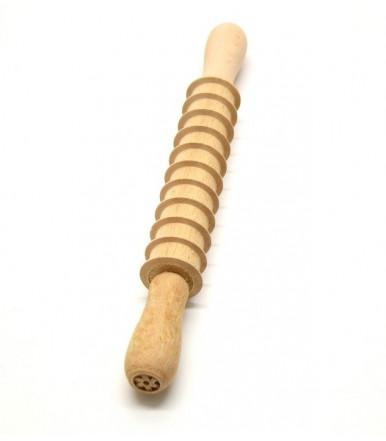 Mattarello tagliapasta per pappardelle in legno di faggio artigianato abruzzese