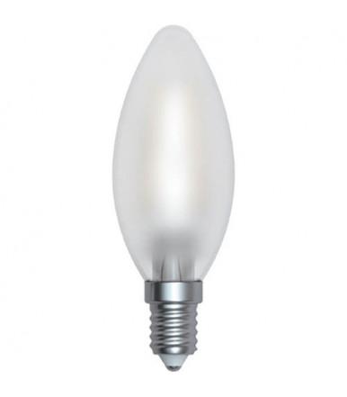 Lampadina oliva satinata LED - 4W E14 3000K Serie Filamento Led SkyLighting